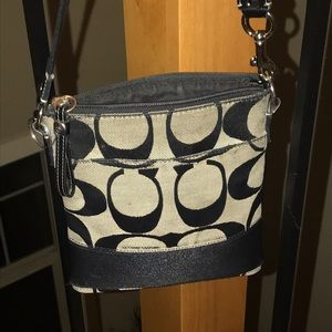 Beautiful Small coach cross body purse